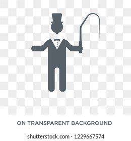 ringmaster icon. ringmaster design concept from Circus collection. Simple element vector illustration on transparent background.