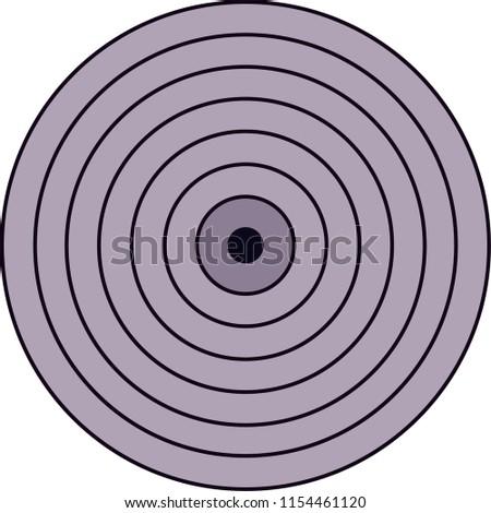 rinnegan literally meaning eye samsara one stock vector royalty