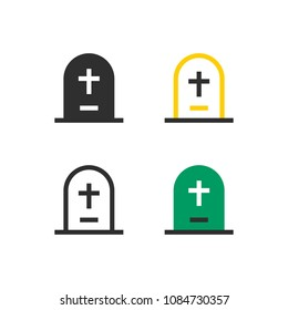 RIP Gravestone icons