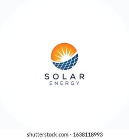 Rising Sun and Solar Logo Design