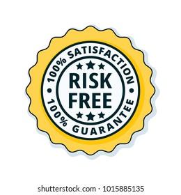 Risk Free 100% Satisfaction Guarantee illustration