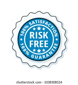 Risk Free 100% Satisfaction Guarantee illustration