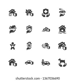 Risk & Insurance Icons - Set 5