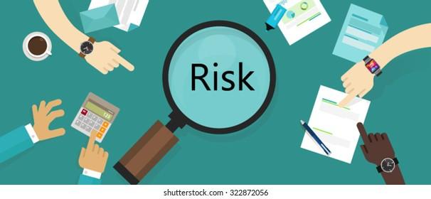 risk management asset vulnerability assessment concept