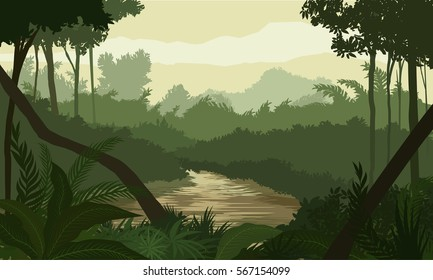 RIVER IN THE JUNGLE