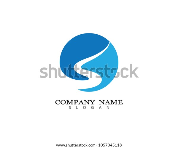 river vector icon stock vector royalty free 1057045118 shutterstock
