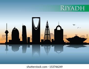 Riyadh skyline - vector illustration