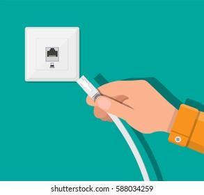 Rj45 Jack Stock Vectors, Images & Vector Art | Shutterstock Internet Jack Wiring on power jack wiring, house phone jack wiring, voice jack wiring, data jack wiring, audio jack wiring, network jack wiring, telephone jack wiring, ethernet jack wiring,