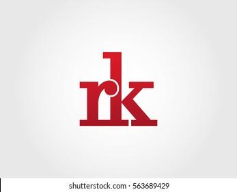 rk lowercase logotype