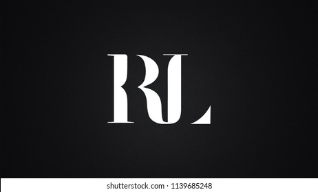 RL Letter Logo Design Template Vector