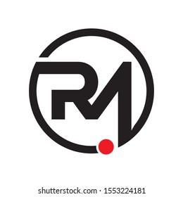 rm logo images stock photos vectors shutterstock https www shutterstock com image vector rm logo initial letter design template 1553224181