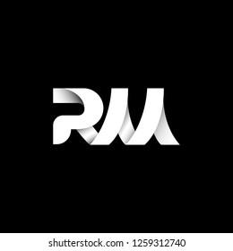 RM logo. Vector illustration.