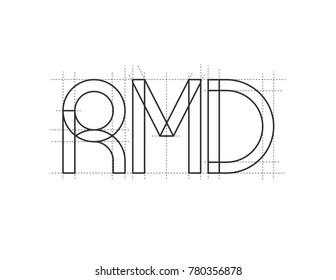 RMD Letters Logo
