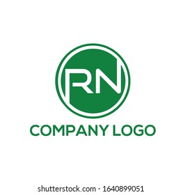 RN logo vector format template