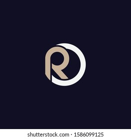 RO font designs for logo and icons
