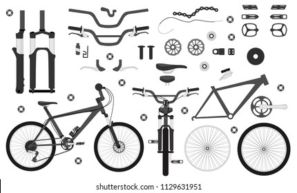 Bicycle Components Images, Stock Photos & Vectors | Shutterstock