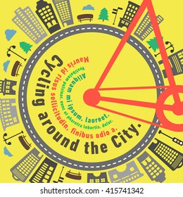 Road bike city wheel