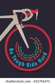 Road bike front typo wheel