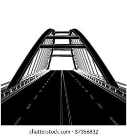 Road The Bridge Vector 01
