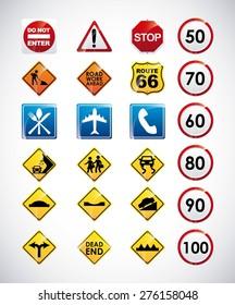 road infographics design, vector illustration eps10 graphic