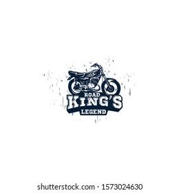 road kings legend motorcycle logo