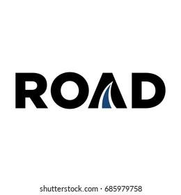 road logo vector.