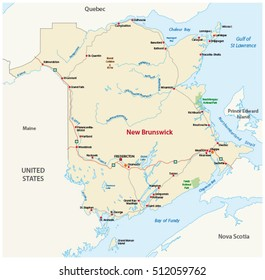 Map Of Canada New Brunswick.New Brunswick Map Images Stock Photos Vectors Shutterstock