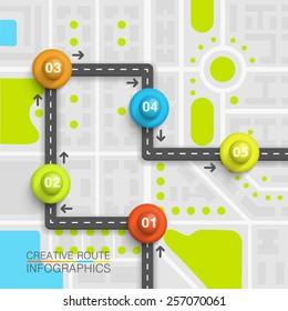 Vectores, imágenes y arte vectorial de stock sobre Map and Location