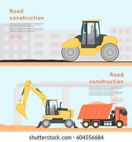 Construction Equipment Banners Red Banner Banners