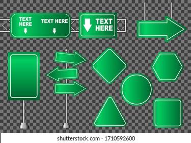 Road sign street vector illustration, traffic blank concept city board tranportation, isolated billboard object transport circle element