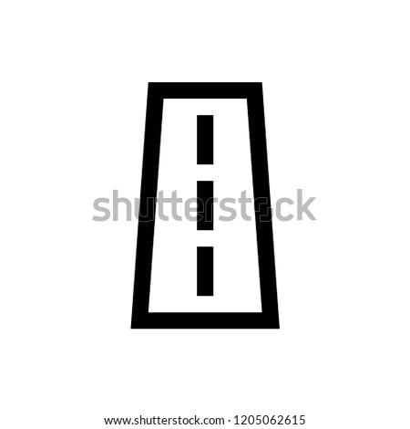 Road Sign Tool Construction Set Editable Stock Vector