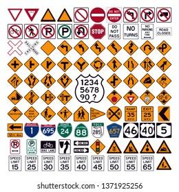 Road Signage and symbols
