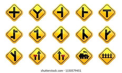 Road and Traffic signs collection