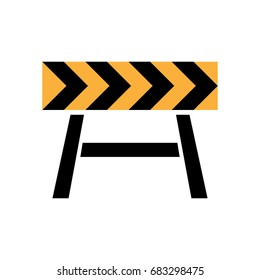 Roadblock icon.