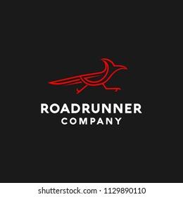Roadrunner business logo design template