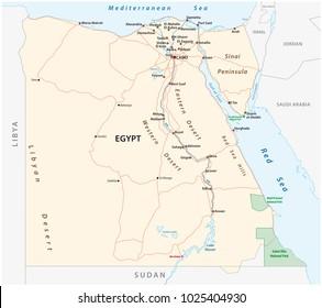Alexandria Egypt Map Stock Vectors Images Vector Art Shutterstock
