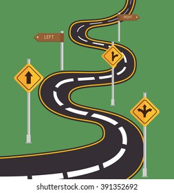roads and ways design