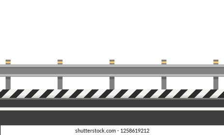 Roadside vector. free space for text. wallpaper. copy space.