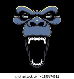 Roar Gorilla Face