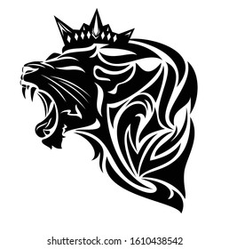 Lion Face Outline Images Stock Photos Vectors Shutterstock Are you searching for roaring lion outline png images or vector? https www shutterstock com image vector roaring king lion wearing royal crown 1610438542