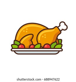 christmas dinner isolated stock vectors images vector art rh shutterstock com christmas dinner clip art pictures christmas turkey dinner clipart
