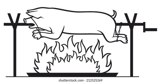 Pig Roast Images Stock Photos Amp Vectors Shutterstock