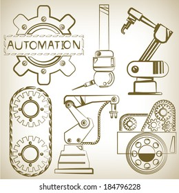 robot and automation tools, mechanical tools set