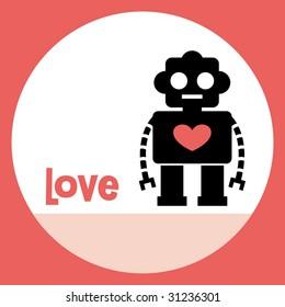 robot card design