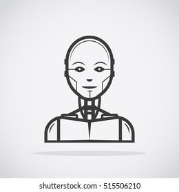 Robot. Cyborg