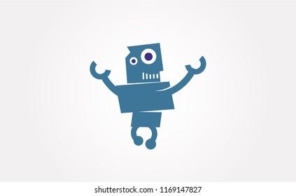 Robot hands up
