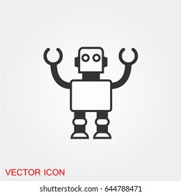 Robot Icon Images Stock Photos Vectors Shutterstock The world's most popular and easiest to use icon set just got an upgrade. https www shutterstock com image vector robot icon 644788471