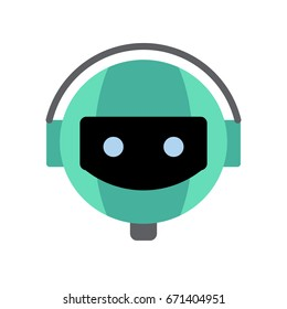 Robot icons - Robot, bot, android (Flat style)