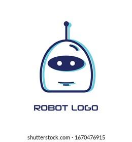 robot logo design ideas - vector