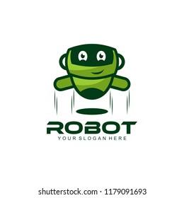 Robot Logo Template